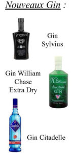 Derniers arrivages Alcools Gin William
